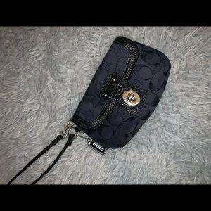 Coach Bags - Blue Coach Wristlet